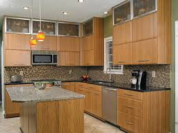 Kitchen Furniture Nj by Fascinating Bamboo Kitchen Cabinets With Red Color Kitchen