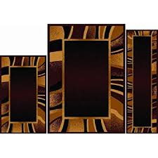 amazon com home dynamix area rugs ariana collection 3 piece