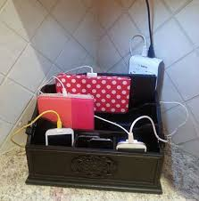 phone charger organizer charging station organizer ideas for phones other electronics