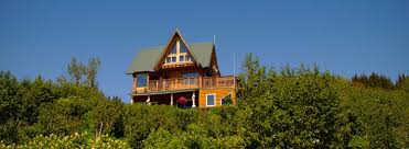alaska house log cabins and vacation rentals overlooking kachemak bay in homer