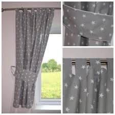 Baby Curtains For Nursery Grey Curtains Nursery Baby Room Tab Top Curtains Tiebacks
