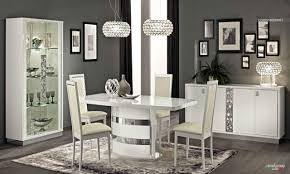 White Dining Room Sets Italian Furniture Modern Dining Room Decor Newhouseofart Modern