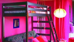 chambre mezzanine fille chambre ado fille avec lit mezzanine tabouret table de chevet