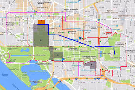 Cherry Blossom Map Washington Dc Memorial Day Parade Route Map