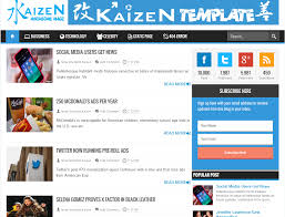kaizen awesome magz blogger templates free download blogger