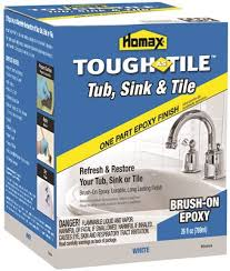 tough as tile sink and tile finish homax industries part 3158 tough as tile tub sink and tile