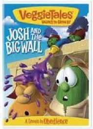 veggietales josh and the big wall dvd christian