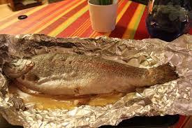 cuisine truite recette truite saumonée en papillotte toutes les recettes allrecipes