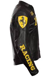 ferrari jacket ferrari black leather jacket leather creative