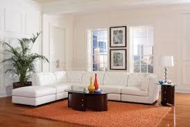 Contemporary White Leather Sectional Sofa by Sofa Modern White Sectional Cream Leather Sectional Grey Leather