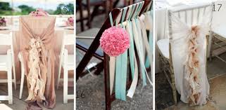 chair ribbons beautiful chair decorations wedding ideas the wedding of my