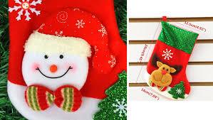 tripleclicks com mini christmas stockings socks santa claus candy