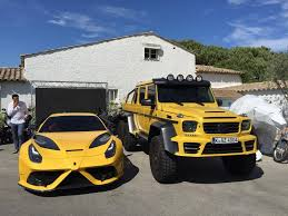 mercedes g63 amg suv 6x6 mansory impresses with its tuned mercedes g63 amg 6x6