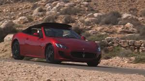new maserati convertible all new maserati granturismo 2017 convertible sport commercial