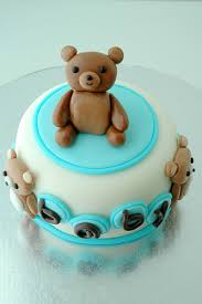 teddy bear baby shower mini cake pasteles pinterest teddy