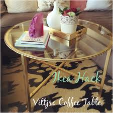 Ikea Hack Coffee Table Vittsjo Coffee Table Ikea Hack The Gold And Glittery Home