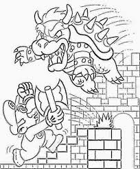coloring pages mario coloring pages free and printable