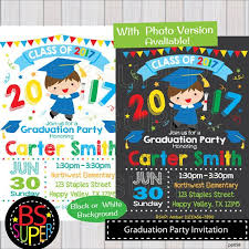 kindergarten graduation invitations designs classic kindergarten graduation invitations with silver