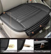 Leather Chair Cushions And Pads Breathable2 Pc Car Interior Seat Cover Cushion Pad Mat For Auto