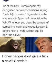 Dont Give A Fuck Memes - 25 best memes about honey badger dont give a fuck honey