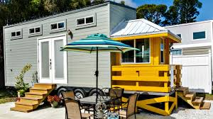 Small Home Design Ideas by Tiny House On Wheels Bright Airy Interior Small Home Design