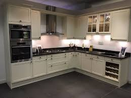 magnet kitchens ex display shaker cream kitchen in tunbridge