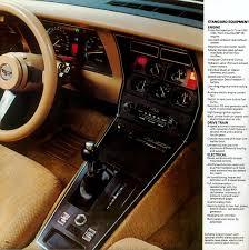 1989 Corvette Interior 1982 Corvette Specs Colors Facts History And Performance