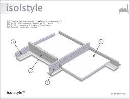 controsoffitto rei 120 isolstyle pannello per controsoffitto rei 120 in silicato di calcio