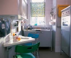 ikea cabinets in a small condo kitchen open storage above the