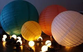 decoration paper lantern string lights for decorating ideas