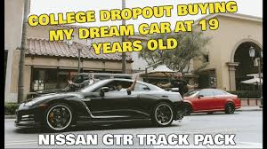 nissan black car old dropout buying 100 000 dream car nissan gt r at 19 ecommerce