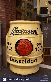 lowensenf mustard düsseldorfer löwensenf mustard shop exterior altstadt the town