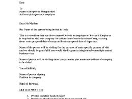 Uk Visa Letter Of Invitation Business Uk Visa Invitation Letter Business Cobypic