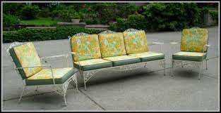 Wrought Iron Patio Furniture by Vintage Wrought Iron Patio Furniture Ebay Patios Home