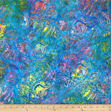 artisan batiks totally tropical fish regatta discount designer