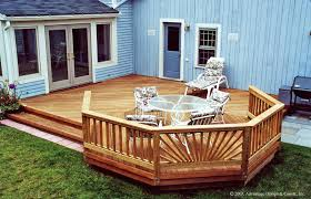 Backyard Decks Ideas Build Wood Deck Over Concrete Patio Wood Patio Decks Designs