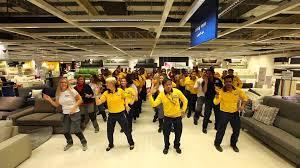 Ikiea by Ikea Co Workers Celebrate In Style Youtube