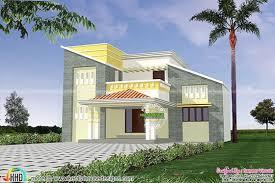 modern slanting roof house kerala home design bloglovin u0027