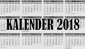 Gambar Kalender 2018 Lengkap Kalender 2018 File Cdr Coreldraw Gratis Lengkap Hijriyah Dan Jawa