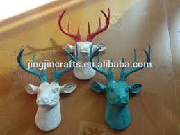 Deer Wall Decor Resin Home Decoration Deer Head 2016 Spring Selling 3d Wall