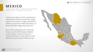 United States Map Template by Mexico Creative Powerpoint Map Infographic Slide Template U2013 My