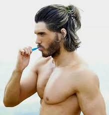 types of ponytails for men men ponytail hairstyles loud read