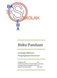 buku panduan be land transport department motor transport licensing authority