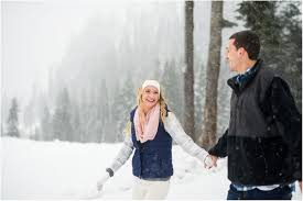 Wedding Photography Seattle Snowy Engagement Session At Alpental Seattle Wedding Photographers