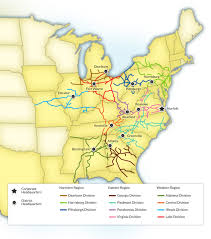 Norfolk Virginia Map by Norfolk Southern To Combine Divisions With Headquarters In Roanoke
