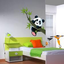 stickers panda chambre bébé stickers muraux stickers enfants pas cher stickers folies