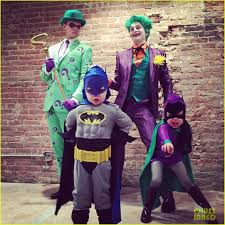 neil patrick harris u0026 david burtka become batman villains on