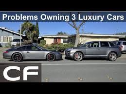 maintenance cost for porsche cayenne owning 3 luxury cars 2000 in maintenance repairs porsche 911
