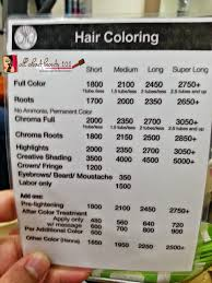 Holiday Hair Haircut Prices Piandre Salon My Latest Experience Rates And Services Offered