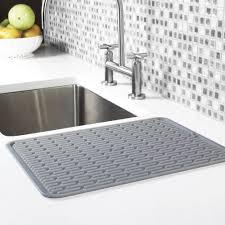 kitchen sink drainer kitchen sink mats rubber sink mats silicone dish drainer buy kitchen